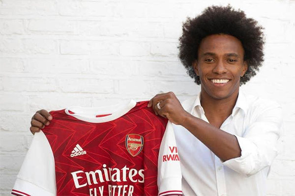 Willian Says He Joined Arsenal To Win Champions League ...