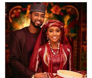Buhari's Daughter Marries 3