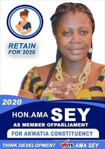 Ama Sey Withdraws As Independent Candidate 2
