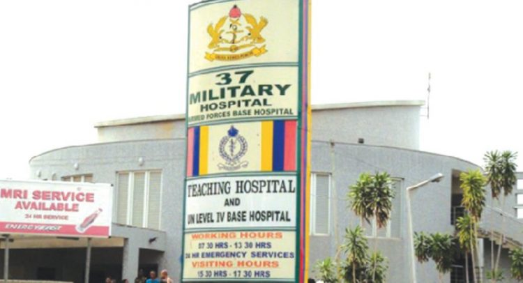37 Military Hospital Fined GHS1,075,000 For Negligence
