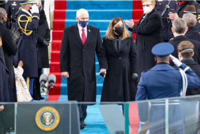 Mike Pence Attends Biden-Harris Inauguration - DailyGuide ...