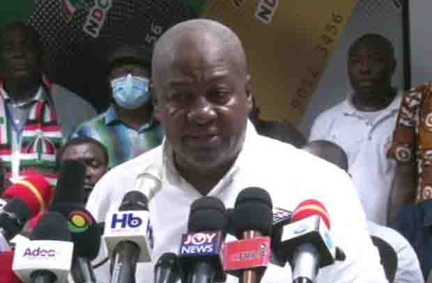 Mahama Describes Election 2020 –Worst Election Conducted In The Country