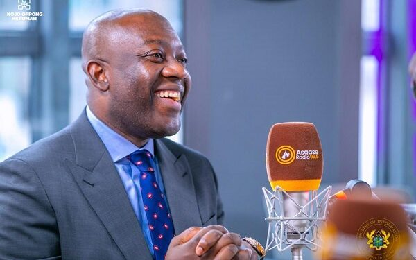 Oppong Nkrumah: Ministers will be reshuffled