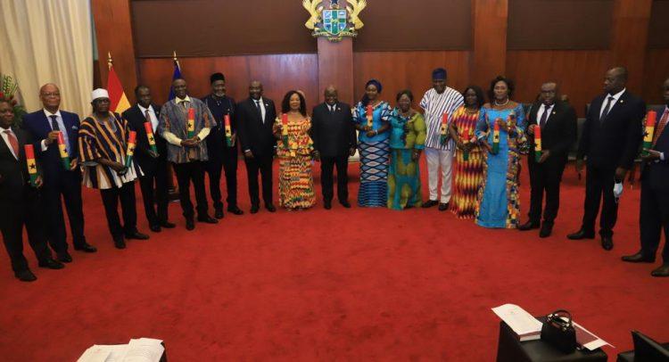 Nana Sends 13 More Envoys