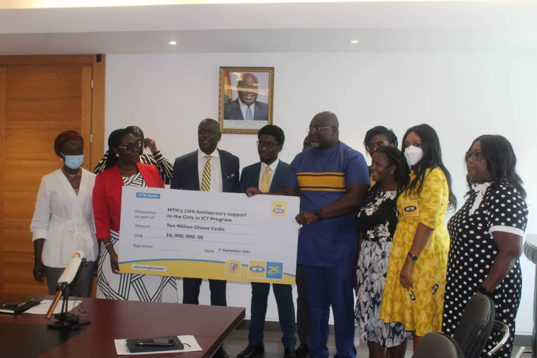 MTN Supports Girls In ICT Initiative With ¢ 10m - DailyGuide Network