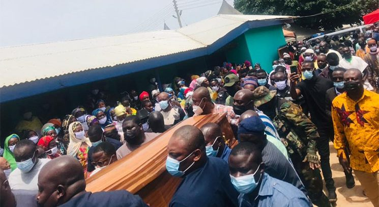 Mortal Remains of Bawumia's Late Mother Arrives In Walewale
