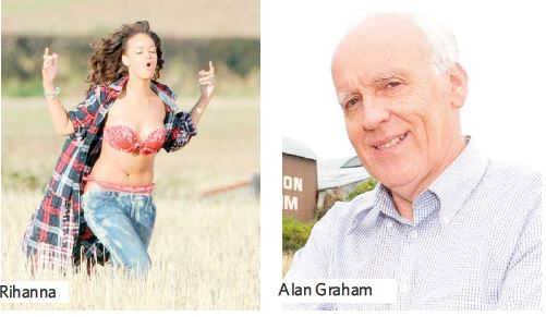 Farmer Recalls 'Courteous Chat' With Rihanna