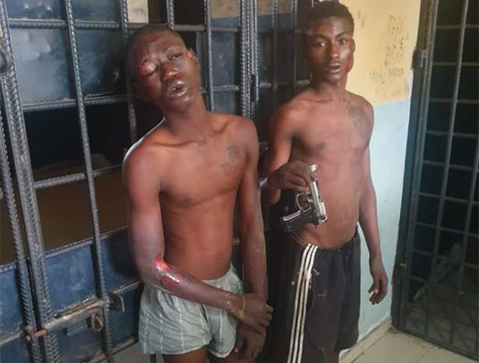 2 Suspected Daylight Robbers Grabbed At Sege