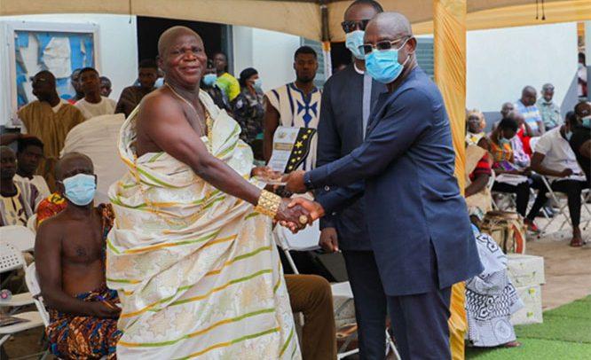 Akuapem Mampong Honours COCOBOD Boss