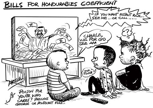 BILLS FOR HONOURABLE COEFFICIENT