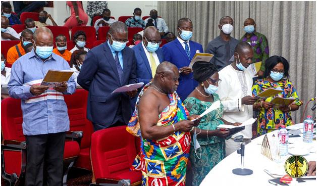 Cocoa Farmers Pensions Scheme Trustees Inaugurated