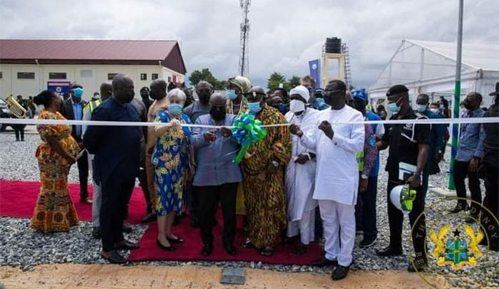 Akufo-Addo Commissions Ghana's Largest Bulk Slectricity Supply Point in Pokuase