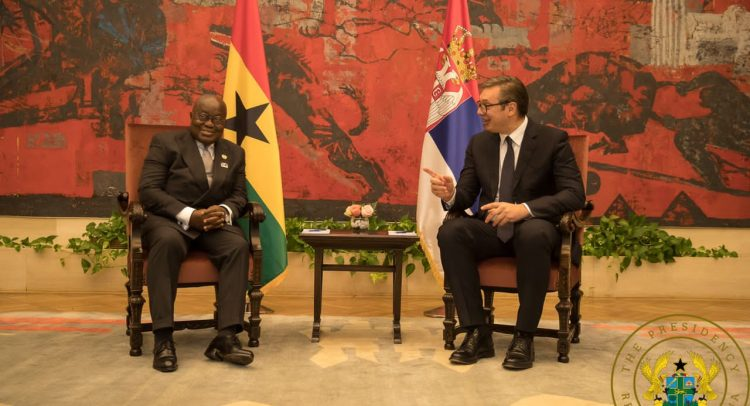 """Prez Akufo-Addo Is One Of The Wisest In The World; A Great Erudite"""" – Serbian President"""