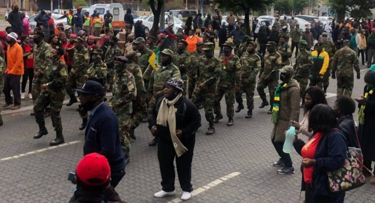 South African Military Veterans Hold Ministers Hostage
