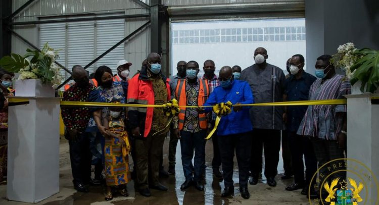 Akufo-Addo Commissions Phase II Of Accra Compost And Recycling (ACARP) Plant