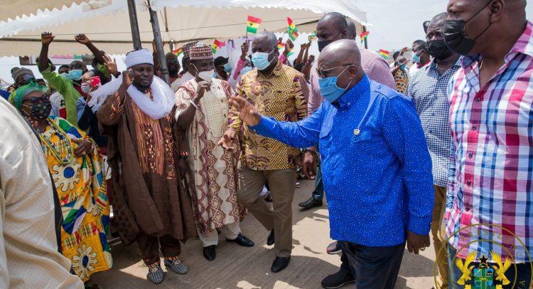Adjen Kotoku Onion Sellers Thank President Akufo-Addo Over Relocation