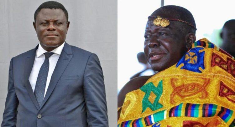 Otumfuo Rejects Kwame Kyei Resignation