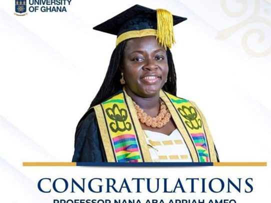 UG Inducts First Female Vice-Chancellor
