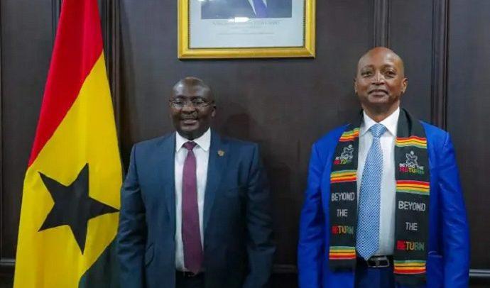 CAF President In  Town, Hails Ghana