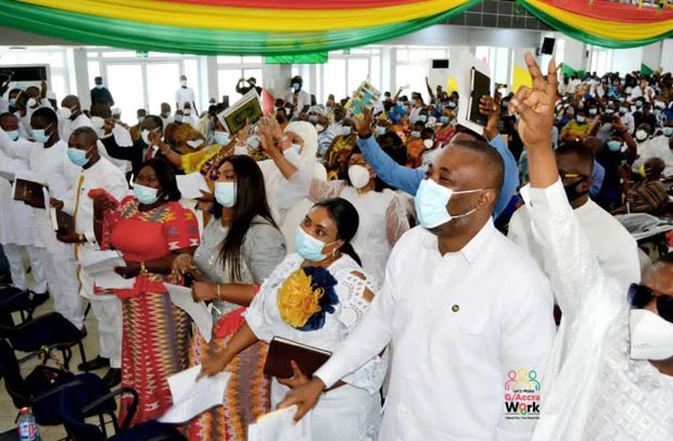 Greater Accra Minister Swears In 26 MMDCEs To Start Work