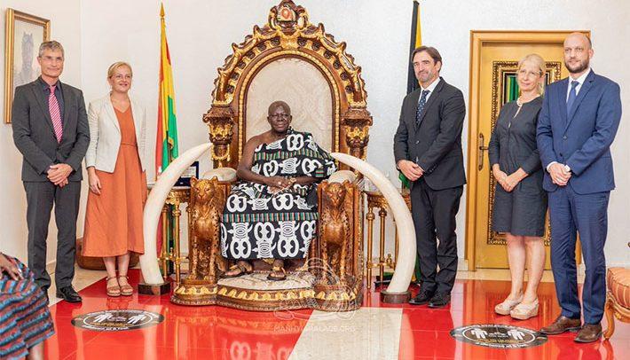 German Envoy Meets Otumfuo