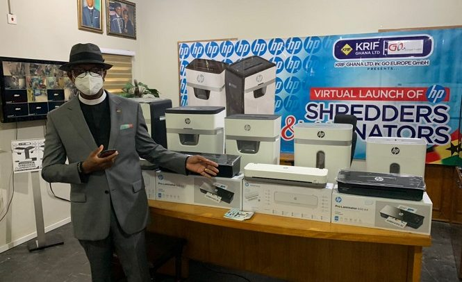 KRIF Ghana Launches Smart Shredders, Laminators