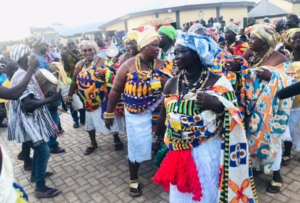 50 Nzema Queen Mothers Celebrate Damba With Lamashegu Naa