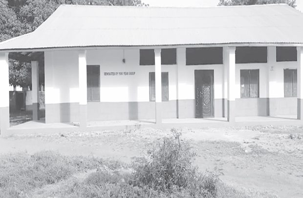 Old Royals Renovate Home Econs Block