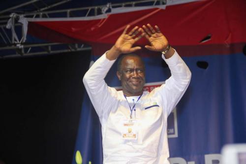Abankwa Yeboah- Newly Elected Treasurer