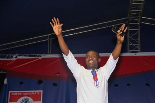 John Boadu- Newly Elected General Secretary