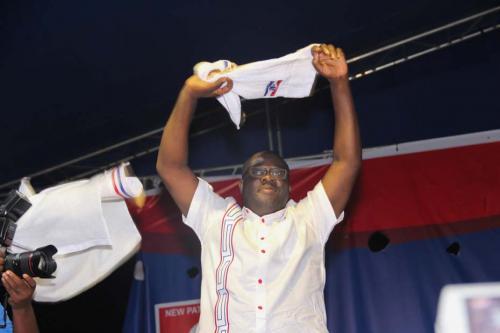 Sammy Awuku- Newly Elected National Organiser