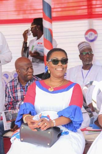 Ursula Owusu Ekuful- Communication Minister